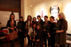Gruppenbild mit allen Künstlerinnen